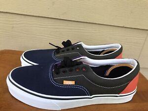 """Vans """"OFF THE WALL"""" Authentic Unisex Sneakers Multi-Color Men's Sz 8 Wo Sz 9.5"""