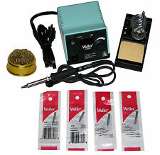 Weller WESD51 Digital Soldering Station with Chisel Tip Bundle & Tip Cleaner