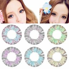 1PCS Cosmetic Soft Hydrophilic Contact Lens Circle Big Eyes Makeup Party Cosplay