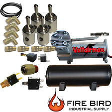 V Air Ride Suspension 4 Mini Toggle Valve 1/4