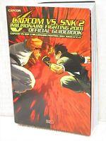 CAPCOM VS. SNK 2 Millionaire 2001 Guide Book PS 2001 EB74
