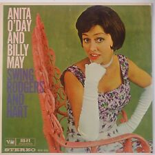 ANITA O'DAY w/ BILLY MAY Swing Rodgers & Hart VG++ STEREO LP Verve JAZZ '60