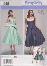 From UK Sewing Pattern Dress Evening 1950's 20W - 28W us #1155