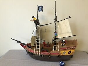 Playmobil Pirate Ship (5135) Incomplete