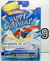 HOT WHEELS HAPPY BIRTHDAY! '65 PONTIAC GTO BLUE W+