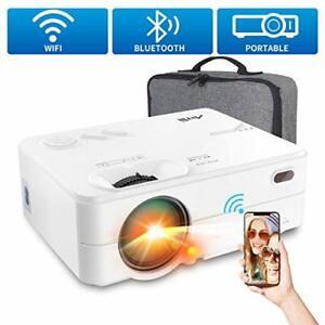 Artlii Wireless Projector 300'' Screen, Full HD Outdoor Wifi Bluetooth Bundle