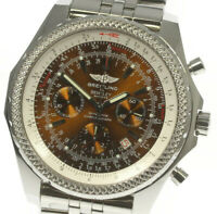 BREITLING BENTLEY A25362 Chronograph Automatic Men's Watch_483375