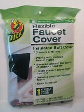 Duck Flexible Outdoor Faucet Spout Insulated Soft Cover Wrap  7.5