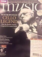 Music Magazine Rostopovich Cello Legend January 2015 092817nonrh