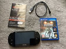 Sony PS Vita Black PCH-2003 slim Bundle With KillZone and Lego movie PlayStation