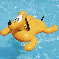 Disney Pluto Cavalcabile Gioco Gonfiabile Bambini 117x107cm Mare Piscina Bestway
