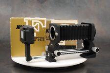 ~Nikon PB-5 Bellows Focusing Attachment plus PS-5 Slide Copying Adapter w/ Boxes