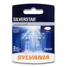 Sylvania SilverStar - 2 Pack - 194ST Light Bulb Courtesy Side Marker Glove kr