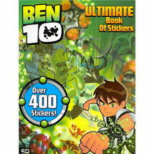 Ben 10 Ultimate Alien book of Stickers over 400 Stickers New crease from storage
