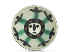 Pablo Picasso Madoura Ceramic plate-'Visage'. Ramié 290