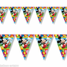 Birthday, Child Mickey Mouse Party Buntings