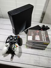 Microsoft Xbox 360 S Model 1439 4GB complete Console BUNDLE + Tested