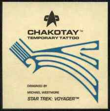 Chakotay Temporary Tattoo/Transfer Star Trek Voyager Season 1 Series 2 (C403)