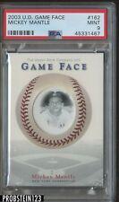 2003 Upper Deck Game Face #162 Mickey Mantle Yankees HOF PSA 9 MINT POP 1