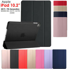 "Funda inteligente 10.2"" iPad para (2019) Apple 7th generación Entallada Cuero De pie Cubierta"