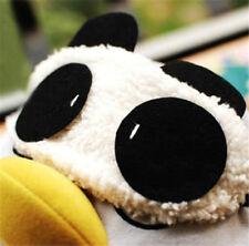 Men&Women Panda Blindfold Eye Mask Travel Rest Sleep Aid Eye Cover New