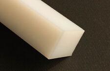 Kunststoff Klotz Vierkant PE 525x75x20 mm HD weiß Platte Quader Rest Stück