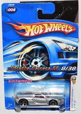 HOT WHEELS 2006 FIRST EDITIONS PORSCHE CARRERA GT #008 SILVER W+
