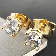 Diamond Yellow Gold Unisex Jewellery