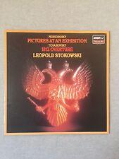 MUSSORGSKY / TCHAIKOVSKY by LEOPOLD STOKOWSKI VINYL LP 1982 London Records