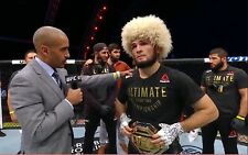 KHABIB Nurmagomedov UFC Papakha papaha  sheepskin from Dagestan Russia winterhat