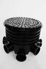 450mm Inspection Chamber- Manhole Base x 1, 450mm Riser x 1, 450mm Round Lid x 1