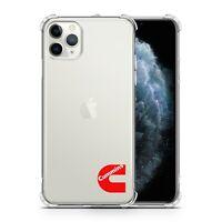 CUMMINS CLEAR SHOCKPROOF PHONE CASE IPHONE 6 7 8 X XS MAX XR 11 PRO GALAXY NOTE