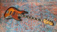 Fender JB-HO Hollow Body Jazz Bass 3TS