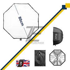 "Photo Master 80cm 32"" Octagon Umbrella Octagonal Softbox Bowens Flash SpeedLight"