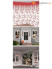 Halloween Bloody Zombie Nurse Doctor Wall Room Decoration Kit Scene Setter Party