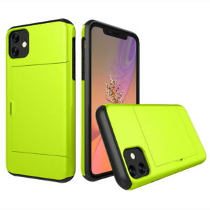 Shockproof Wallet Credit Card Holder Case Cover For iPhone 12 11 Pro Max XR XS 8