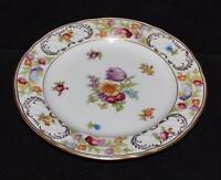"Schumann,Bavaria, Arzberg Germany, E&R, DRESDEN FLOWERS - 6 1/4"" Bread Plate (C)"