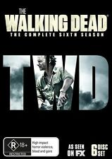 The Walking Dead : Season 6 (DVD, 2016, 6-Disc Set)  New & Sealed