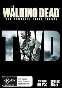 The Walking Dead : COMPLETE Season 6 : NEW DVD