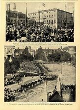 Vermählung des Kronprinzen mit der Herzogin Cecilie von Mecklenburg i.Berlin1905