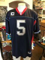 Trent Edwards 2XL Men's Buffalo Bills Captain Jersey stitched art