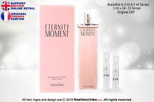 Eternity Moment CK (Original) EDP | 5 ML | Atomiser Sample Spray Decant Perfume