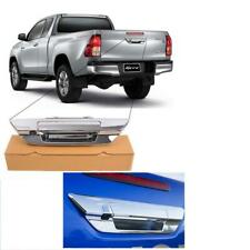 Chrome Tailgate Rear Handle With Camera For Toyota Hilux SR5 2015-17 M70 M80