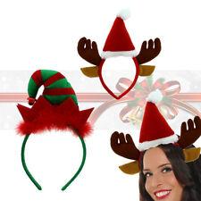 Kids Adult CHRISTMAS HEADBOPPER Headbands Head Bopper Novelty Fun Fancy Dress UK