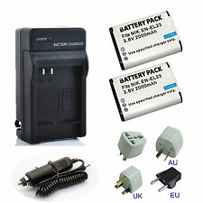 Rechargeable Li-ion Battery / Charger For Nikon EN-EL23, ENEL23 2000mAh