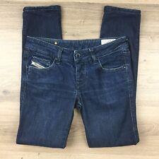 Diesel Women's Jeans Cuddy Skinny Leg Size W27 Actual W30 L29 hemmed (BG5)