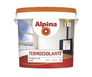 ALPINA - TERMOISOLANTE - PITTURA TERMICA ANTIMUFFA E ANTICONDENSA - LT. 4 - 10