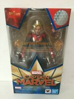 ORIGINAL NEW S.H.Figuarts CAPTAIN MARVEL Bandai Authentic Japan.  US Seller!