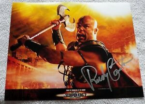"""UFC Legend """"The Natural"""" Randy Couture Signed The Scorpion King 2 8x10 Photo"""