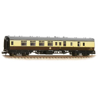 Graham Farish 374-189C N Gauge BR Choc/Cream BSK Brake Coach